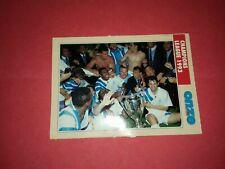 FICHE FOOTBALL ONZE MONDIAL OM MARSEILLE VAINQUEUR CHAMPIONS LEAGUE 1993