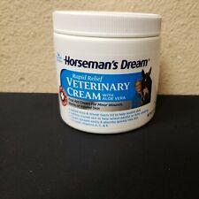 Horseman'S Dream Rapid Relief Vet Veterinary Cream Minor Wounds Aloe Soothe 16oz