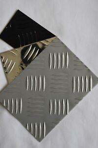 Aluminium-Checker-Plate-Sheets-5-bar 1.4mm and 2mm 1200mm x 2400mm