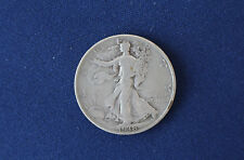 1938-D Liberty Walking Silver Half Dollar Key Date M1325