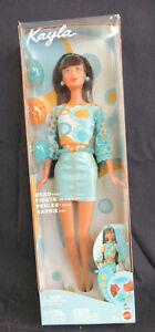 Barbie Kayla Bead Party Doll w/ Turquoise Mini 2002 #56640 Mattel