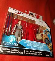 Rey (Jedi Training) & Elite Praetorian Guard Star Wars Force Link 2-Figure Set