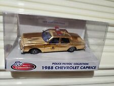White Rose Collectibles GOLD CHEVY CAPRICE State Police Cars NY ARK MD LA FL ME