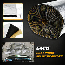 7X1M Car Heat Insulation Sound Noise Reduce Deadener Muffler Shield Underlay Mat