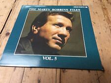 MARTY ROBBINS - The Marty Robbins Files Vol 5  BEAR FAMILY BFX15139 LP