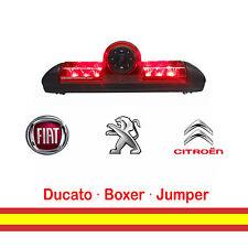 Retrocamara para Furgonetas Peugeot Boxer Citroen Jumper Integrada en luz freno