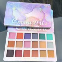 18 Colors Eyeshadow Palette Pigmented Matte Shimmer Eye Makeup Shadow W7I4