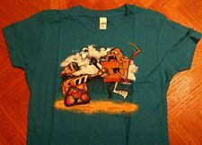 Wall-E and the Boxtrolls mash-up T-shirt size womens Medium