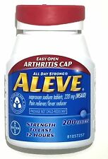 ALEVE 200 TABLETS 220mg NAPROXEN SODIUM (NSAID) EXPIRES 08/2018 OR LATER