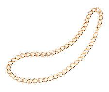 70's AÑOS 80 61cm Súper START Cadena de Oro Pop cantante hip hop estilo collar