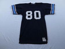 RARE Vtg Leonards Sporting Goods Football Jersey Medium Large Blue Athletic USA