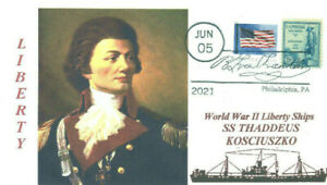 THADDEUS KOSCIUSZKO Ship named for Polish Revolutionary War General Pictorial PM