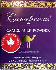 100% Camel Milk Powder-480 g -By Camelicious Canada ® - Shipped from Alberta