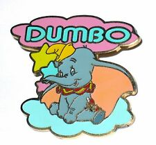 Disney Pin✿Dumbo Baby Flying Elephant Timothy Mouse DLRP Cast Lanyard Cloud Star