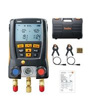 Neue 550-2 Testo Manometer inkl. Bluetooth,2 Fühler + Koffer + Batterien