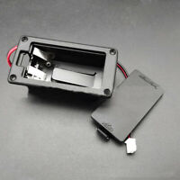 9V Battery Box Holder Case Cover Holders Active Guitar Bass Pickup Accessories