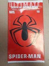 Ultimate Spider-Man #160 1:30 Kaluta Death of Spider-Man Sealed Red Bag Variant