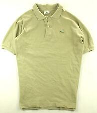 Lacoste Polo Shirt Poloshirt Beige   oliv Gr. 6 XL 133417c134