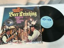 GERMAN BEER DRINKING SONGS by The Zillertal Band LP Very Good