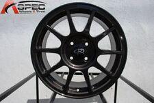 16x7 Rota R SPEC 4x100 +45 Gun Metal Wheels (Set of 4)