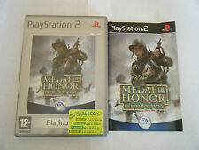 Medal Of Honor : En Première Ligne  - Sony PlayStation 2 - Complet - Occasion