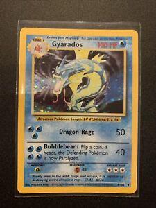 Gyarados 6/102 - Base Set Holo Rare - WoTC Pokemon Card