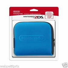 POCHETTE/HOUSE DE TRANSPORT NINTENDO 2DS BLEU Officiel EN Stock Neuf et Emballer