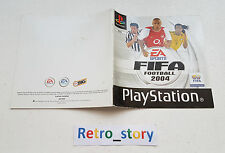 Sony Playstation PS1 FIFA 2004 Notice / Instruction Manual