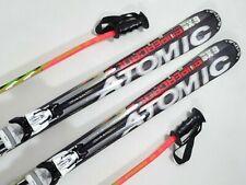 Atomic SX Supercross Carver 160cm Ski + 120cm Stöcke + Z 10 Bindung (AS224)