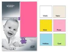 Kneer Flausch Frottee Baby/Kinder Spannbetttuch Bettlaken 60x120-70x140 cm