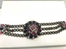 Lucky Brand Red and Clear Crystal Bracelet - New
