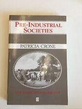 Book Pre-Industrial Societies  Patricia Crone