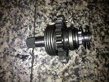 2002 Suzuki RM 125 RM125 kick start shaft and gear 01 03 04 05 06 07 08