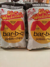 2 Bags MIDDLESWARTH BBQ POTATO CHIPS PENNSYLVANIA CLASSIC BEST PENN STATE 10 OZ