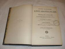 dictionnaire anglais français ,laughlin ,garnier,1914