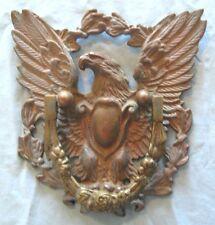 ANTIQUE LARGE JAPAN BRONZE AMERICAN EAGLE DOOR KNOCKER