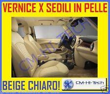 VERNICE BEIGE ! PER RITOCCO SEDILI IN PELLE FIAT COUPE FERRARI 348 355 360 F 430