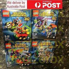 *RARE* Lego DC Comics Super Heroes Robin Bane Superman Batman Wonder Woman - NEW