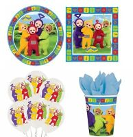 TELETUBBIES PARTY RANGE (Kids/Fun/Birthday/Cups/Plates/Balloons/Invitations)