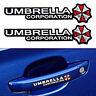 Resident Evil Umbrella Car Sticker PET Graphic Zombie Auto Decal Motor Emblem 4*