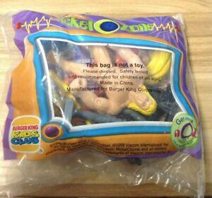 1998 Burger King Kids Club Meal Toy Nickelodeon Nickelozone NEW SEALED (JY)