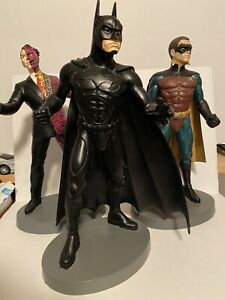 "Batman Forever 12"" BATMAN ROBIN & TWO FACE Statue Warner Bros Store Exclusive"