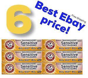 6 Arm & Hammer Orajel Sensitive Teeth & Gum Refreshing Mint Dental Care 4.5 Lot