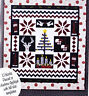 SALE - Nordic Christmas - pieced & applique quilt PATTERN - GE Designs