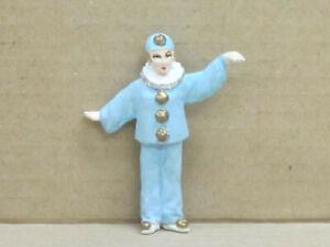 Clown Pierrette mit weiten Armen, Zinnfigur, handbemalt, Omen, 1:43, Version 1