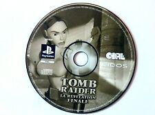 46086 Tomb Raider La Revelation Finale - Sony PS1 Playstation 1 (1999) SLES 0223