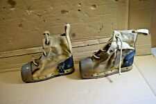 Antique Diving Weighted Boots Shoes Brass Desco Deep Sea