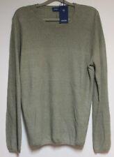 JOOP Pullover Strick-Rund  Khaki Größe L  Neu mit Etikett
