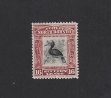 1909 North Borneo Birds SG 174 Mlh