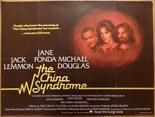 THE CHINA SYNDROME (1979) - original UK quad film/movie poster, Jane Fonda